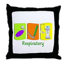 Respiratory Therapy Throw Pillow