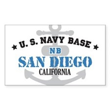 US Navy San Diego Base Decal