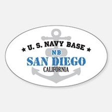 US Navy San Diego Base Decal