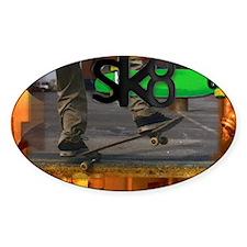 Cute Skate board Decal