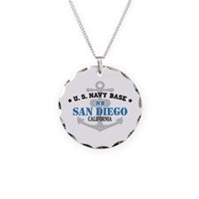 US Navy San Diego Base Necklace