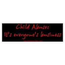 """""""Everyone's Business"""" Bumper Bumper Sticker"""
