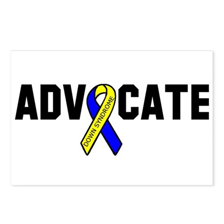 Advocate (down syndrome) Postcards (Package of 8)