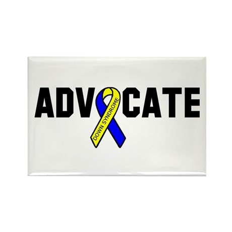 Advocate (down syndrome) Rectangle Magnet