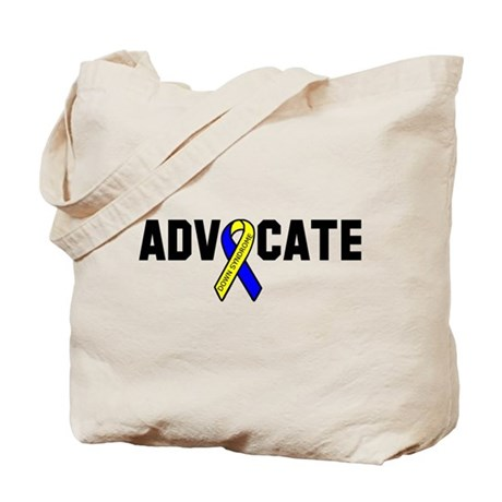 Advocate (down syndrome) Tote Bag