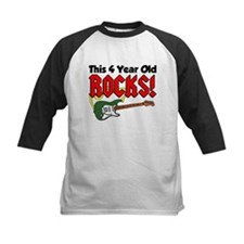 This Four Year Old Rocks Tee