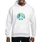 Peace Earth Hooded Sweatshirt