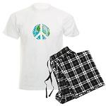 Peace Earth Men's Light Pajamas