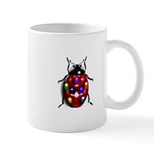 Ladybug Colorful Gem Dots Mug