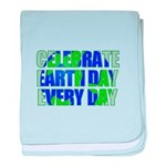 Earth Day Every Day baby blanket