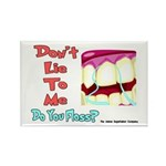 Do you Floss? Rectangle Magnet (10 pack)