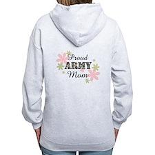 Proud Army Mom [fl2] Zip Hoodie