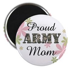 Proud Army Mom [fl2] Magnet