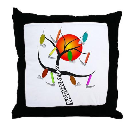 Respiratory Therapy 2011 Throw Pillow