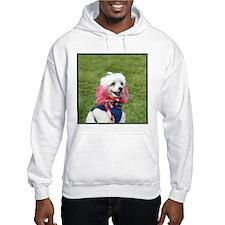 Patriotic poodle Hoodie
