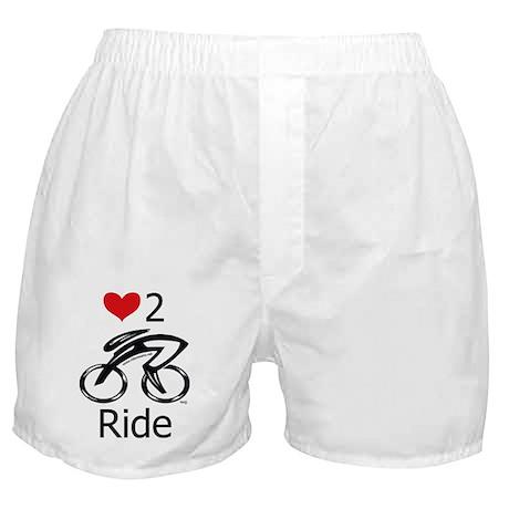 Love 2 ride Boxer Shorts