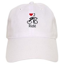 Love 2 ride Baseball Cap