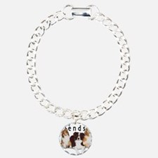 Cool Border collie Charm Bracelet, One Charm