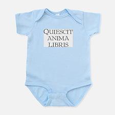 """""""Quiescit Anima Libris"""" Infant Bodysuit"""
