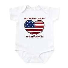 Military Brat Infant Creeper