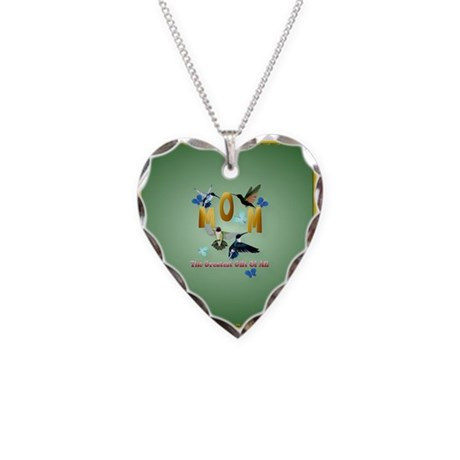 Mom_The Greatest Gift Of All Necklace Heart Charm