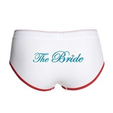 Here Comes the Bride Women's Boy Brief (Beach)