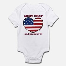 Army Brat Infant Creeper