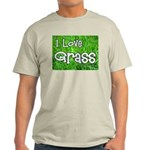 I Love Grass Ash Grey T-Shirt