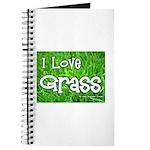 I Love Grass Journal