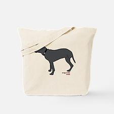 Rear Leg Tripawd Pit Bull Tote Bag