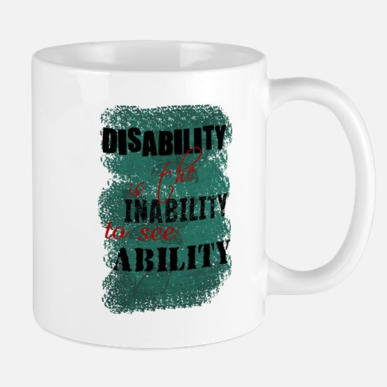Disability is... Mug