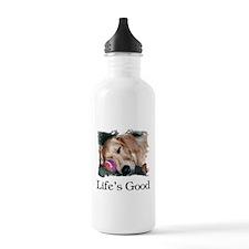 Life is Good Water Bottle