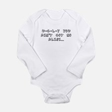 Unique U of l Long Sleeve Infant Bodysuit