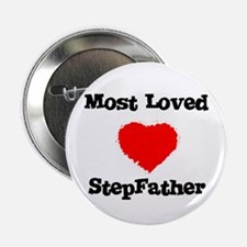 Most Loved StepFather Button