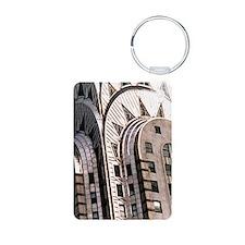 Chrysler Building! Aluminum Photo Keychain