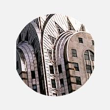 """Chrysler Building! 3.5"""" Button"""