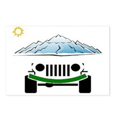 Unique Jeeps Postcards (Package of 8)