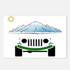 Unique Jeeps Postcards (Package of 8)