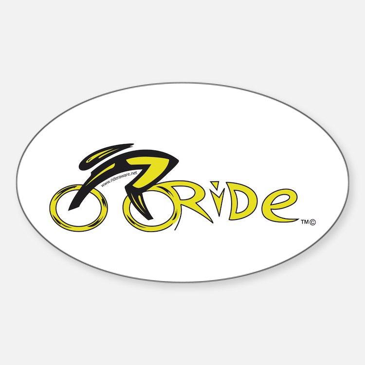 rider aware 2 Decal
