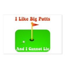 Big Putts Postcards (Package of 8)