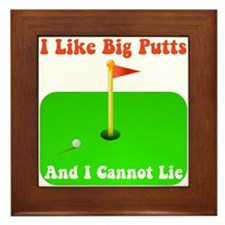 Big Putts Framed Tile