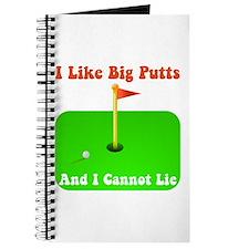 Big Putts Journal