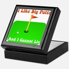 Big Putts Keepsake Box