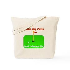 Big Putts Tote Bag