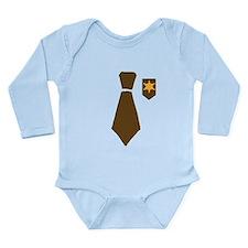 Little Sheriff Long Sleeve Infant Bodysuit