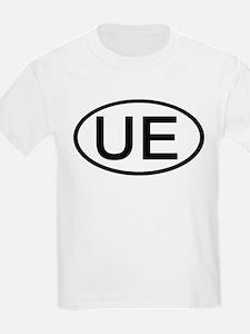 UE - Initial Oval Kids T-Shirt