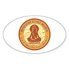 Buddha Meditation Wisdom Decal
