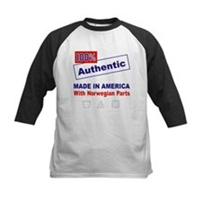 Made in America with Norwegian Parts Tee