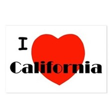 I love California! Postcards (Package of 8)