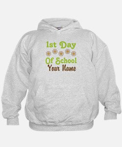 1st Day of School Personalized Hoodie